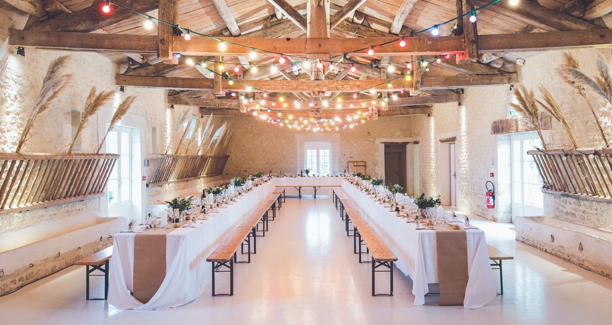 Eleganckie namioty weselne