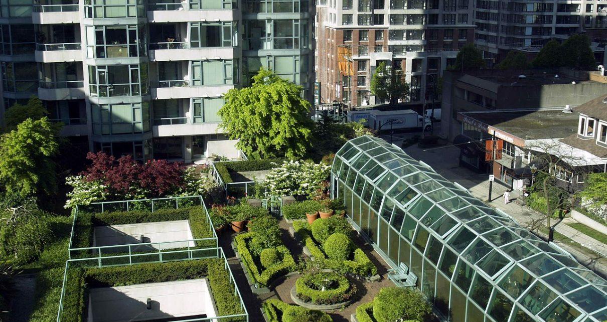 Zalety zielonych dachów